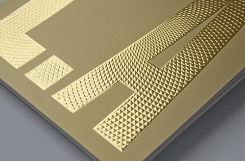 effet texture brillant mat packaging